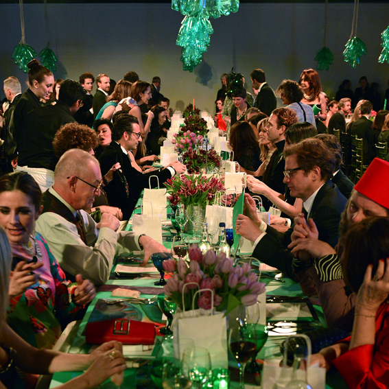 Contemporary Art Society's Annual Fundraiser RE-, held at Tobacco Dock, London, 2014