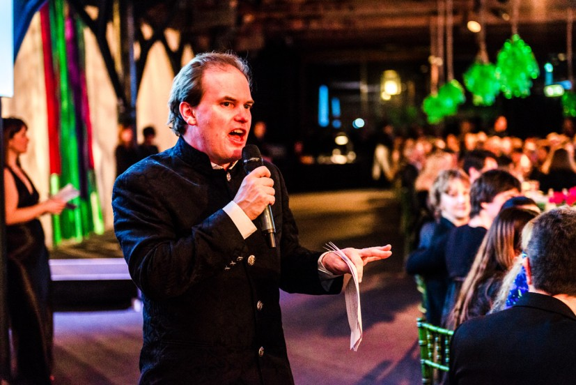 Contemporary Art Society's Annual Fundraiser RE-, held at Tobacco Dock, London, 2014, photo: Joe Plommer