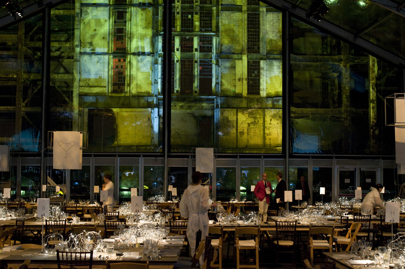 Contemporary Art Society's Annual Fundraiser Systems, held at Battersea Power Station, London, 2010, photo:Matthew Blaney