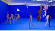 Anthea Hamilton, Cut-outs, Galerie Fons Welters, Amsterdam, NL, (installation view), 2007. Courtesy the artist.