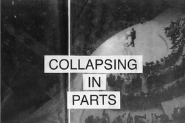 Cally Spooner, Collapsing in Parts at International Project Space, 2012. Courtesy the artist and International Project Space