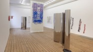 Alice Channer, Body Conscious, Installation shot, The approach, 2011. Courtesy the artist and The approach