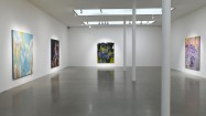 Fiona Rae, New Paintings (installation view), 2013. Courtesy the artist and Timothy Taylor Gallery