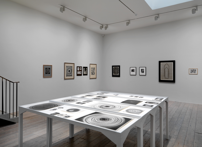 Běla Kolářová, Raven Row, 2013, exhibition view,. Photograph by Marcus J. Leith. Image courtesy Raven Row and estate of Běla Kolářová