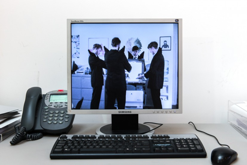Pil & Galia Kollectiv, Conflict within the Organization, 2010. Screensaver, 6 minutes 48seconds. Photo: Joe Plommer