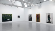 Lynette Yiadom-Boakye, The Love Without (installation view), 2013. Courtesy Corvi-Mora, London and Jack Shainman Gallery, New York. Photo: Marcus Leith.