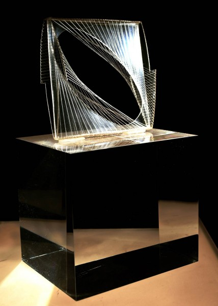 Naum Gabo, Linear Construction in Space No. 1, 1942. Courtesy the artist and Brian Smith.