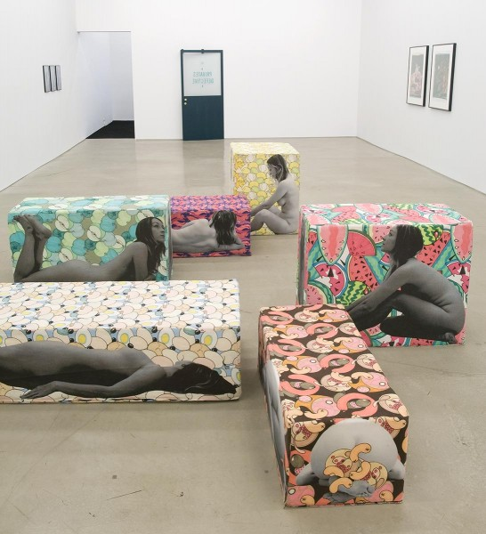 Fruity Seating (with Anthea Hamilton), 2013, Antibody, Lisa Cooley, New York, © the artist