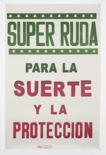 Super Ruda, poster, 2010. Image courtesy the artist and Hollybush Gardens, © the artist