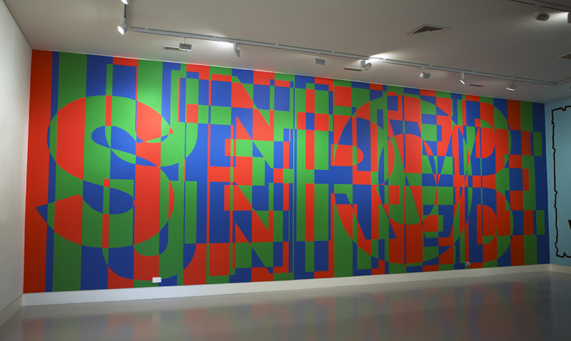 United To Serve, wall painting installed at CGP, London, 2014. Image courtesy the artist, © the artist. Photo: Lucy Barriball