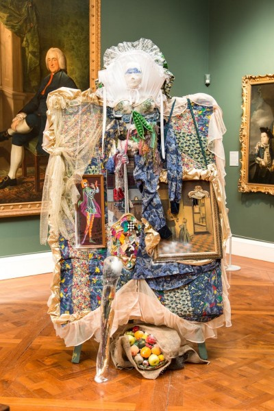 Still Life with Needlepoint, 2013, Ladies, Lets Rip, The Holburne, Bath, © the artist
