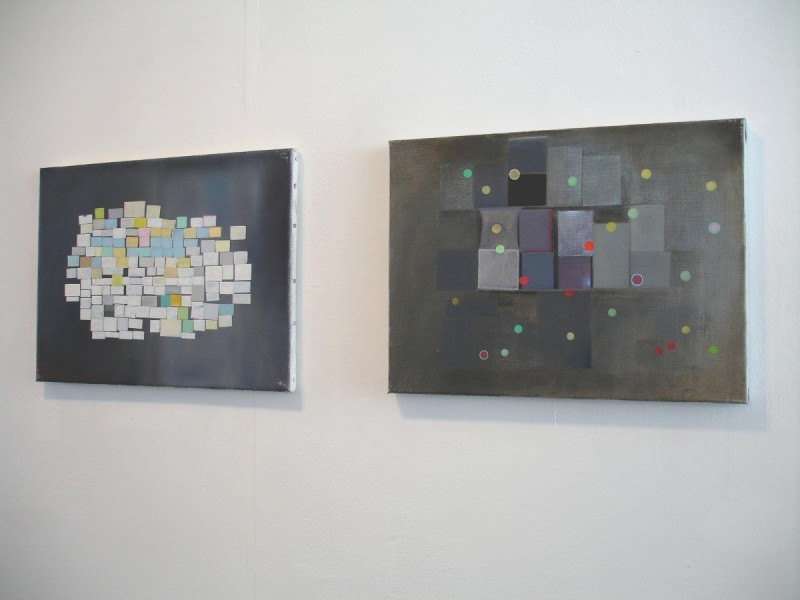 'Souvenirs', Fieldgate at Angus-Hughes Gallery, 2011