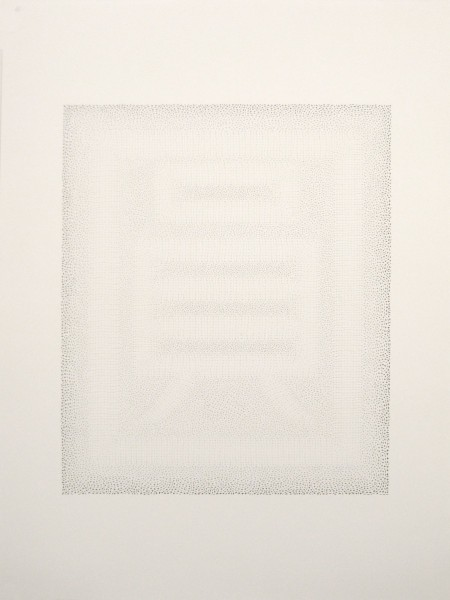 HKD, pencil on paper, 70 x 50cm, 2009. © Frances Richardson, photo courtesy the artist