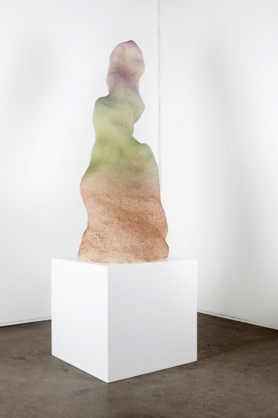 Puna, 2013, glazed ceramic, 136 x 56 x 72cm, © the artist courtesy Federica Schiavo Gallery, Rome