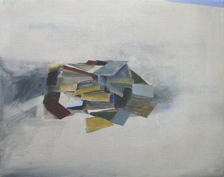 Books, 2010, oil on canvas, 40 x 50cm. © the artist