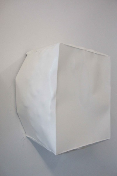 Burst (White), 2012, oil and acrylic on aluminium, 65 x 58.5 x 33.5cm, image courtesy the artist and Lisson Gallery, London