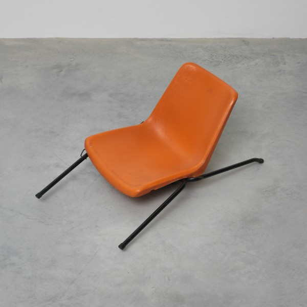 Flat, 2009, mixed media and ready-made chair, 100 x 50 x 50 cm (approximately), image courtesy the artist and Lisson Gallery, London