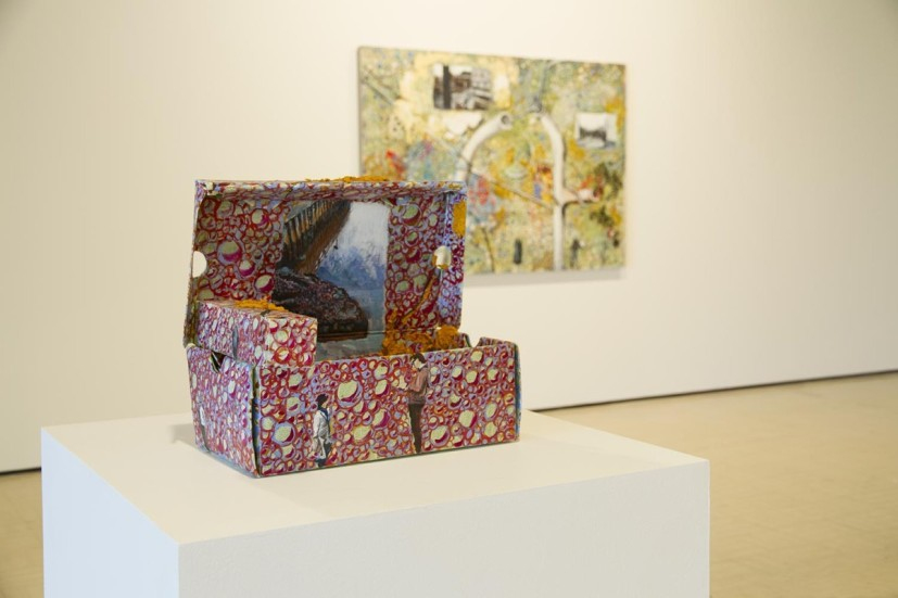 Ringbinder, installation view of solo exhibition at Northern Gallery for Contemporary Art, Sunderland (25 July - 17 October 2015). Photograph by Colin Davison. Image courtesy the artist and NGCA, Sunderland , © the artist