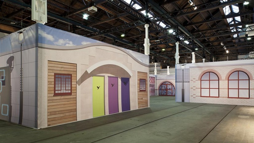 Image: Matthew Darbyshire, T-Rooms, Installation view, Tramway, Glasgow. Photo: Keith Hunter. Courtesy the artist and Herald Street, London.