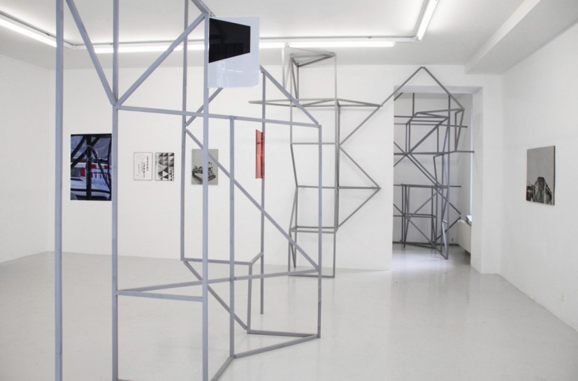 PARA/SITE, 2013, painted wood, dimensions variable, © the artist