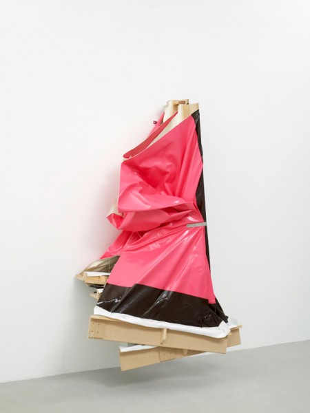 Super Clutter XXL (Pink/Brown), 2006, oil and acrylic on canvas, 210 x 142 x 85 (approximately), image courtesy the artist and Lisson Gallery, London