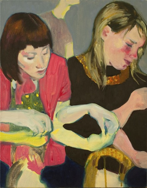 The Birthday Party, oil on linen, 45.5 x 35.5 cm, 2009, image courtesy the artist and Vane, © the artist