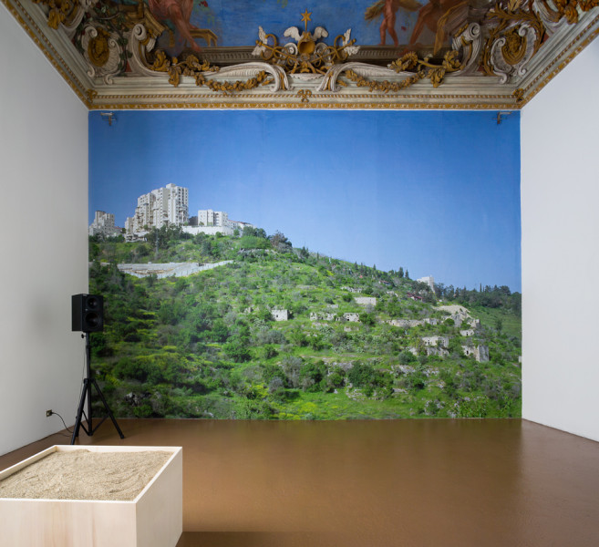 Oddly, One Lived the War in One's Mind More Intensely than at Home in a Country at War, 2008-9 Installation view Kunsthaus Zurich: Europe, The Future of History, 2015, photo: FBM Studio, Zurich. Image courtesy the artist, © the artist