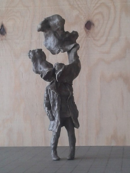Female Figure (i), bronze, 35cm approx. height, 2015. Image courtesy the artist, © the artist