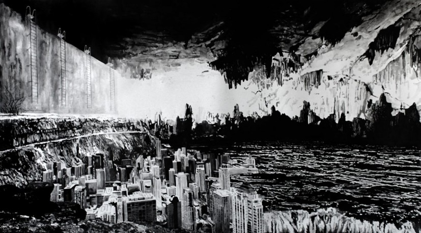 this must be the place, 2011, ink on paper, 120 x 213cm, © the artist