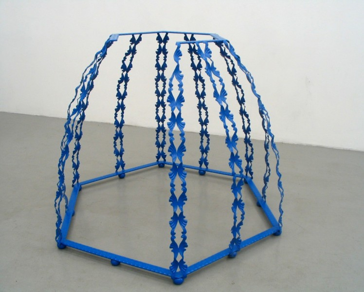 Pulpit, 2005, powder-coated steel, 145 x 145 x 106cm, © the artist
