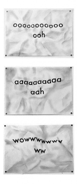 Oooh aaah wowww, 2011, graphite on paper, 3 x 29 x 21cm, © the artist