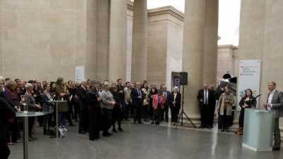 Paul Hobson, Director, the Contemporary Art Society speaks at the Contemporary Art Society Annual Reception 2010 held at Tate Britain in the Contemporary Art Society's Centenary Year, ©Contemporary Art Society photo: Matthew Blaney