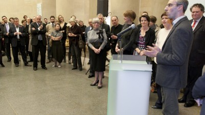 The Winners of the Contemporary Art Society's Annual Award, Commission to Collect 2010 2010 held at Tate Britain in the Contemporary Art Society's Centenary Year, photo: Matthew Blaney