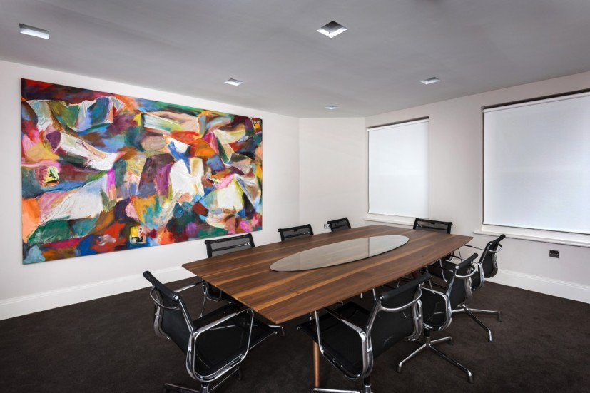 SSS by Alexis Marguerite Teplin, Private Equity Offices, Mayfair, London. Photo: Joe Plommer.