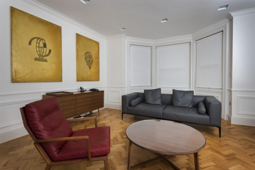Works by Santo Tolone, Private Equity Offices, Mayfair, London. Photo: Joe Plommer.
