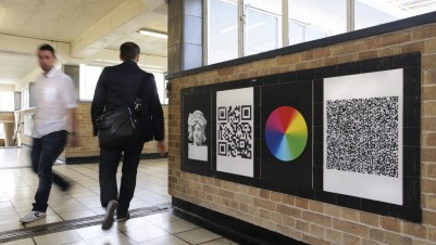Anna Barham, 'White City', 2012. Commission at White City Station for Art on the Underground's Central Line Series. 60 posters, 3 online video works. Copyright the artist. Courtesy of Arcade, London