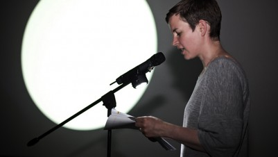 Anna Barham, 'Slick Flection', 2009/2012. New version performed with Carrie Topley at 172, Zabludowicz Collection, London, 2012. Copyright the artist. Courtesy of Arcade, London