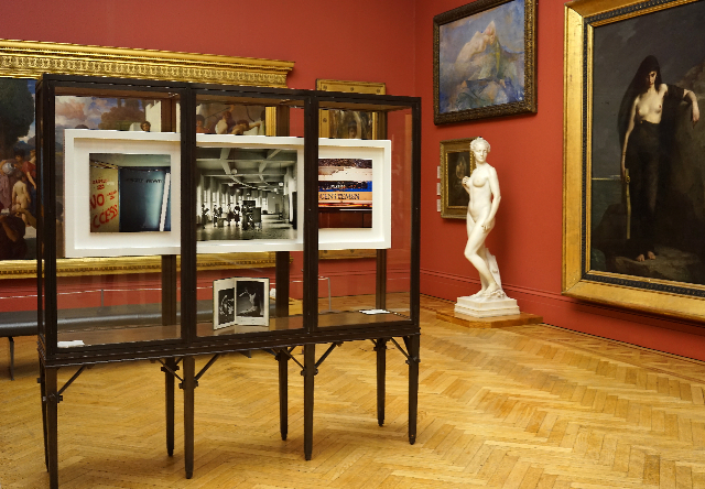 Citizen Manchester: Cabinet II, Strictly Private / Stratigraphy, 2014 Alan Ward (Manchester Art Gallery)