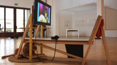 Heather Phillipson, A Is to D What E Is to H, Whitechapel, 2012, courtesy of the artist and Whitechapel Gallery, London