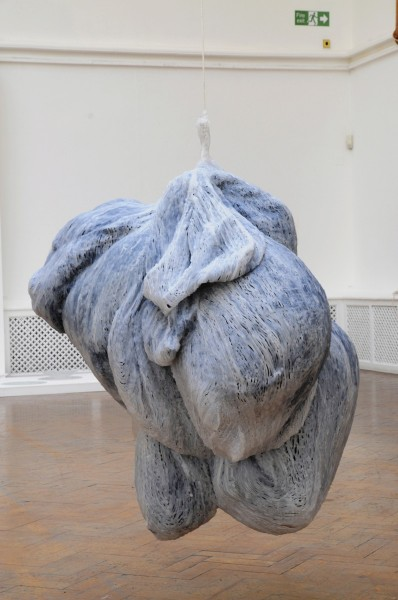 Nicola Ellis, Osseous, steel, polyurethane and paper mache clay, 354cm x 350cm x 23cm, 2013, photo courtesy of the artist
