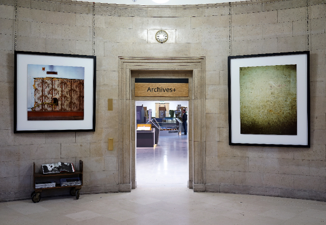 Citizen Manchester: Foliage and Hole, 2014, Alan Ward / The Listeners, 2014, Dan Dubowitz (Manchester Central Library)