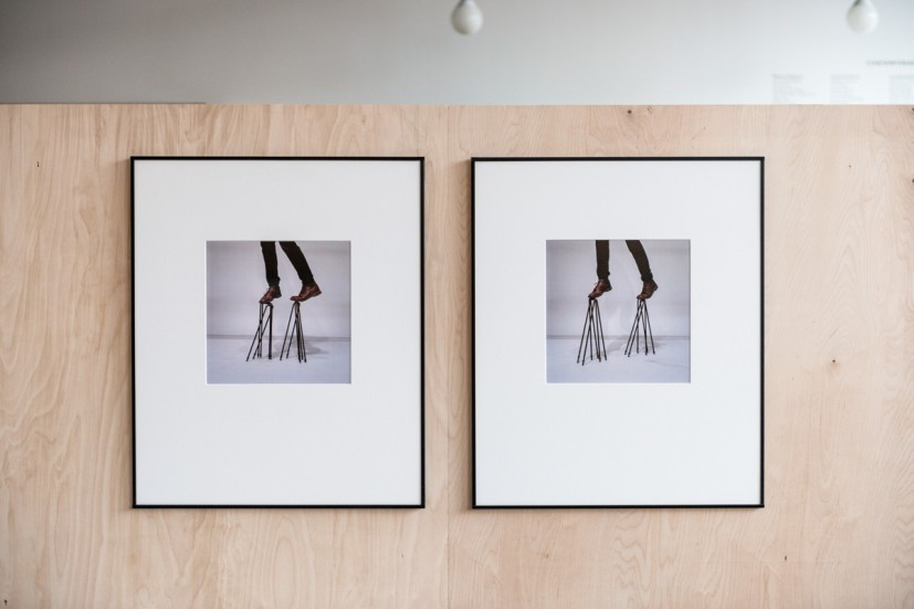 Tom Lovelace, In Preparation No.11, Diptych 2, Diptych 1, chromogenic print, 60 x 50cm, edition 4 of 5, 2012. Photo: Joe Plommer.