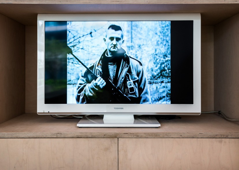 Adela Jusic, The Sniper, 2007, Single channel video, duration 4 minutes 11 seconds, Edition of 5, Courtesy Alan Cristea Gallery. Photo: Joe Plommer