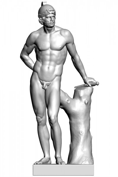 Oliver Laric, Lincoln 3D Scans (2013). Commissioned by The Collection and Usher Gallery, Lincoln through the Contemporary Art Society Annual Award