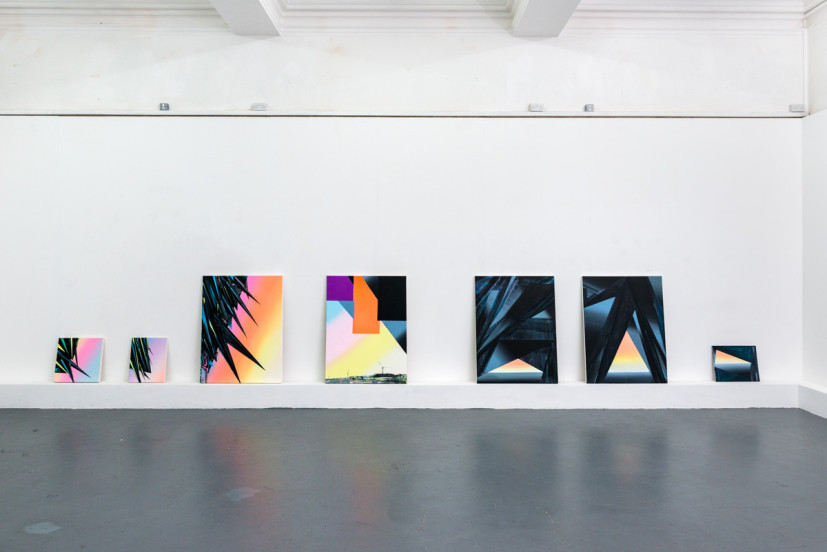 Recent works, 2014. Image courtesy the artist, photo: Joe Plommer