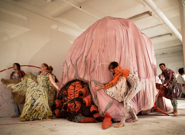 Marvin Gaye Chetwynd, Home Made Tasers, Studio 231, New Museum, NY 26 Oct 2011–1 Jan 2012 © the artist, courtesy Sadie Coles HQ