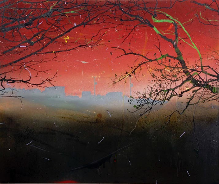 Red Generator, oil on canvas, 153 x 183cm, 2008, image courtesy the artist, © the artist