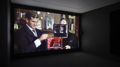 Thomson & Craighead, The Time Machine in Alphabetical Order, 2010. Courtesy Carroll/Fletcher, London