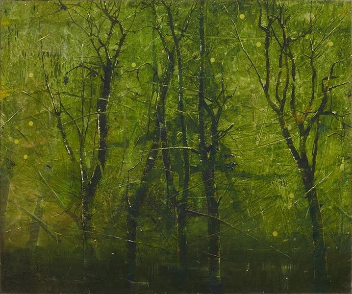 Verdant, oil on canvas, 153 x 183cm, 2012, image courtesy the artist and Wilkinson Gallery, London, © the artist
