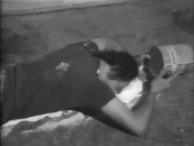 Paul McCarthy, Black and White I (film still), 1970-1975, digibeta, duration 33.49 minutes, image courtesy the artist, Hauser & Wirth and EAI